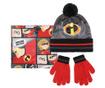 Set oroške zimske kape, rokavic in cevastega šala The Incredibles