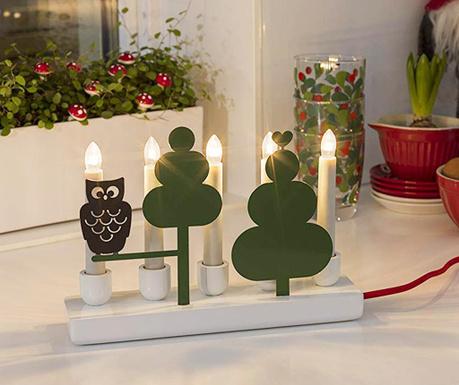 Decoratiune luminoasa Vadia Owl