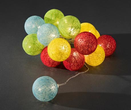 Ghirlanda luminoasa Mariel Multicolor 600 cm