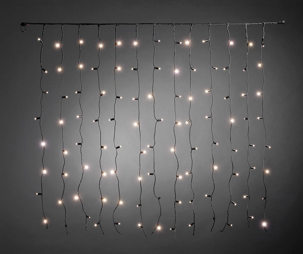 Zunanja svetlobna zavesa Eluclya Black