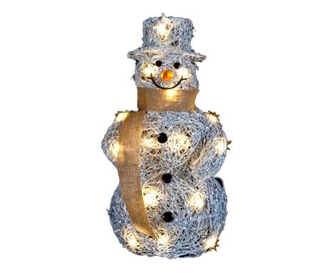 Decoratiune luminoasa Jolly Snowman