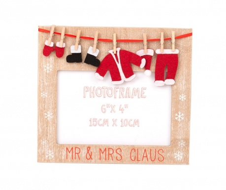 Ramka foto Mr & Mrs Claus