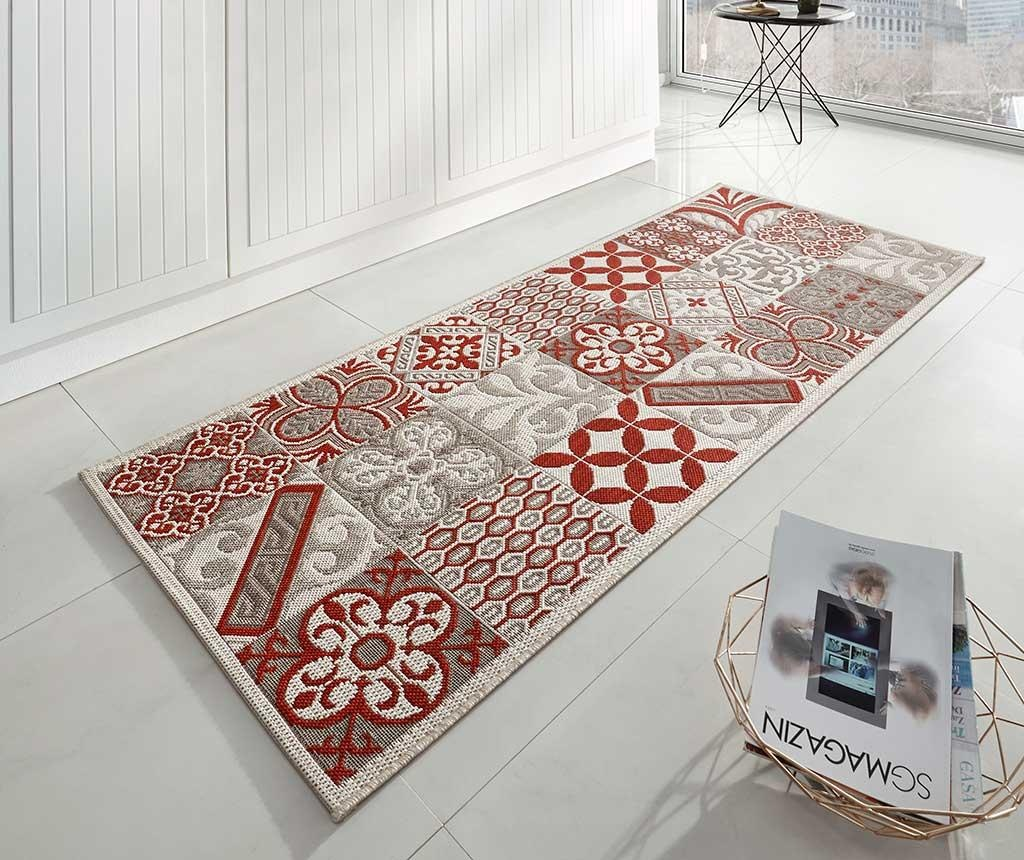 Covor Accent Red 80x200 cm