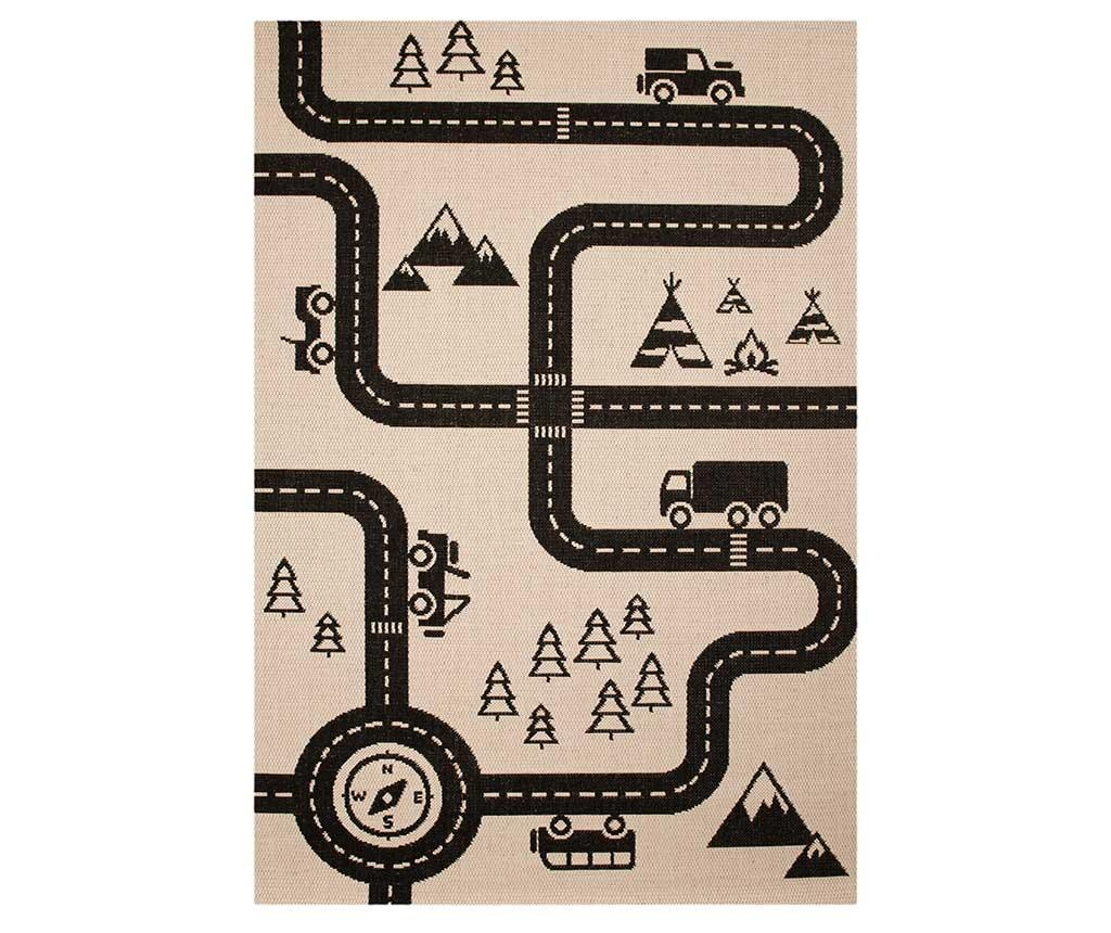 Flatweave Road Map Charly Gyerek szőnyeg 120x170 cm