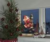 Svetlobna dekoracija Climbing Santa