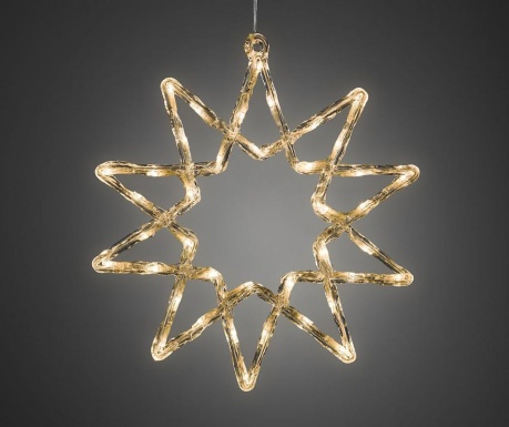 Decoratiune luminoasa pentru exterior Big Snowflake