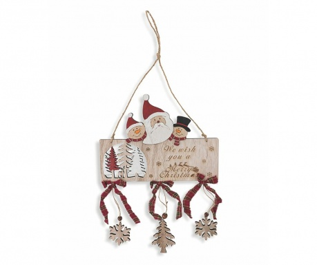 Decoratiune de perete Wish You A Merry Christmas