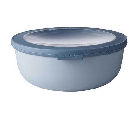 Κουτί αποθήκευσης με καπάκι Circula Nordic Blue 1.25 L