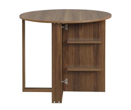 Stół rozkładany Lanette Walnut Effect