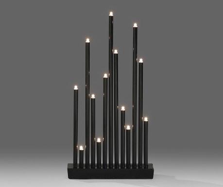 Decoratiune luminoasa Special Horns Black