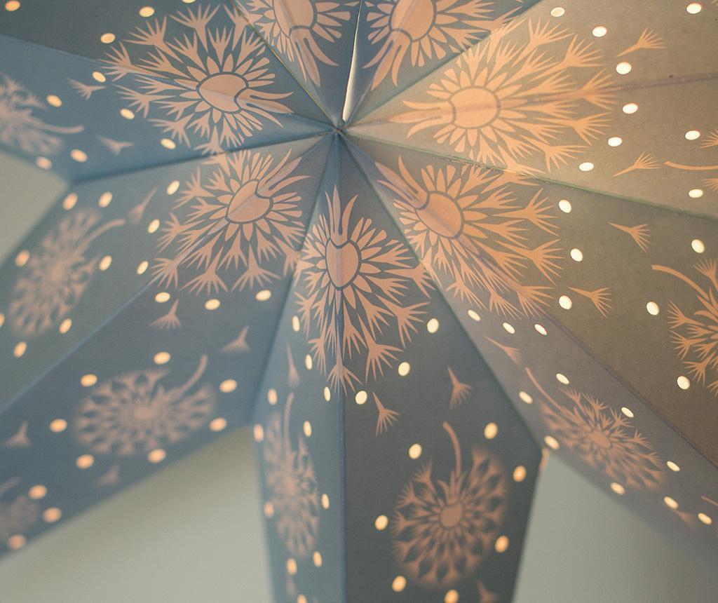 Decoratiune luminoasa suspendabila Blue Star