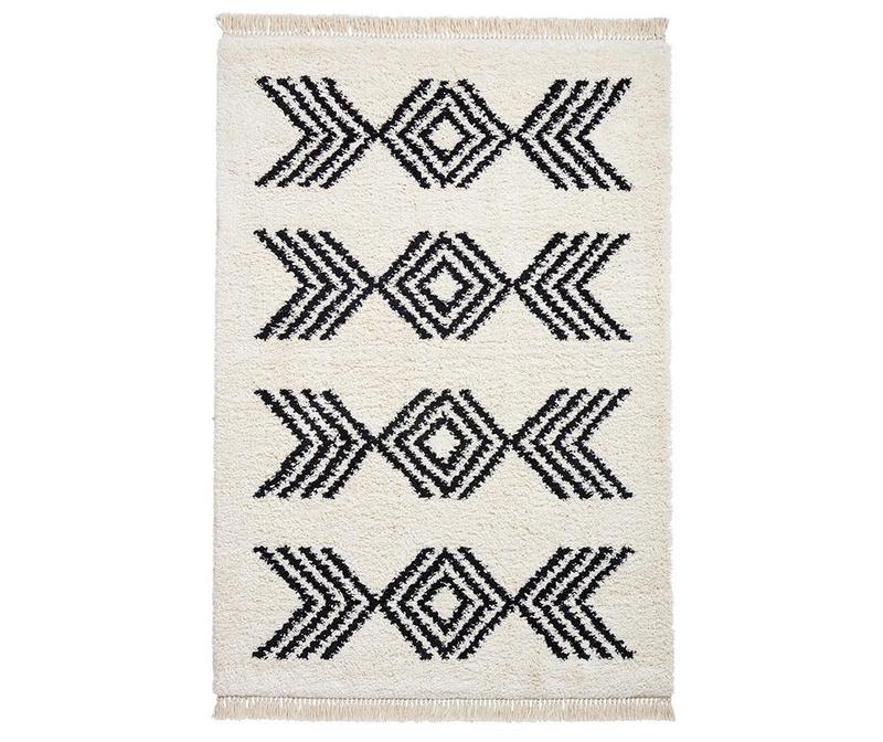 Tepih Boho Colyce Ivory and Black 120x170 cm