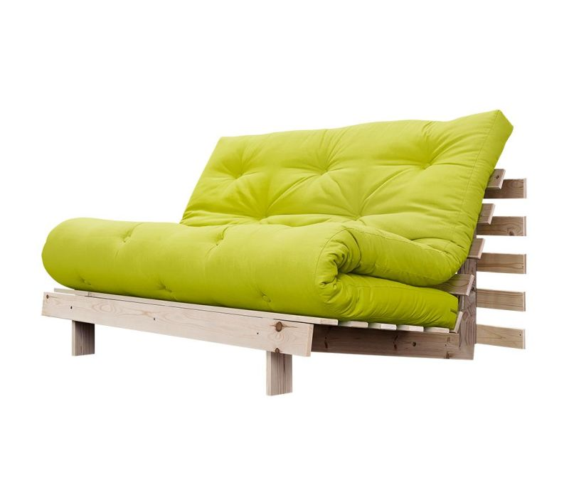 Sofa extensibila Roots Wide Natural and Pistachio