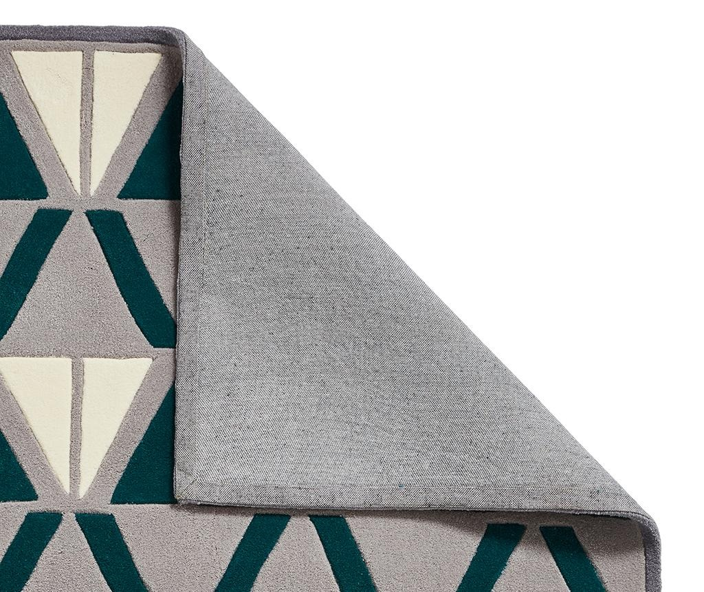 Covor Hong Kong Grey and Green 120x170 cm