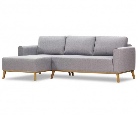 Ляв ъглов диван Campos Portland Cream Grey