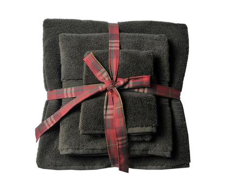 Комплект 3 кърпи за баня Chicago Olive