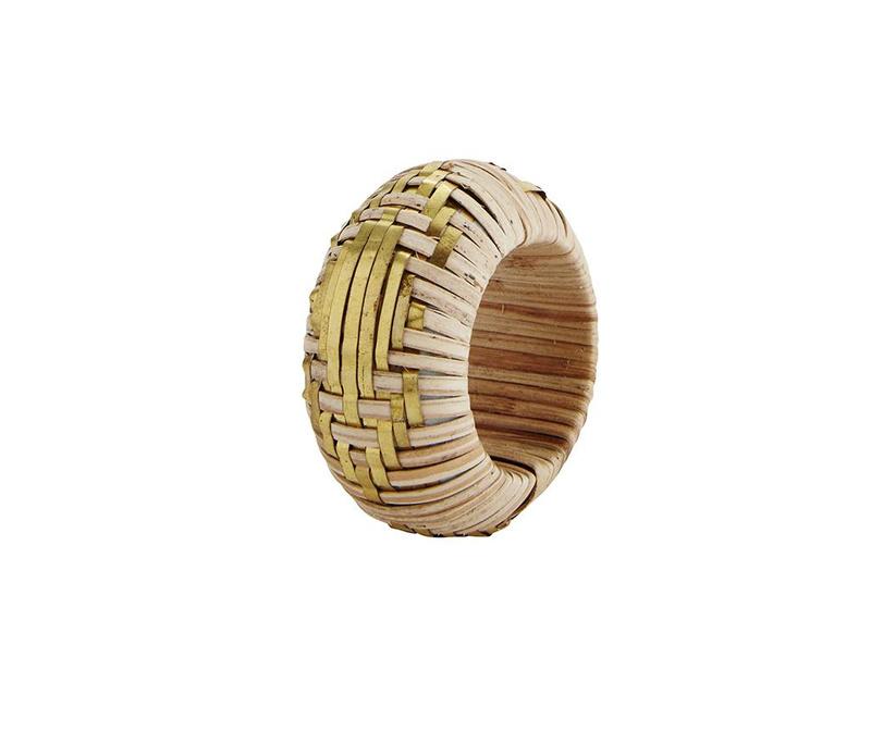 Prsten za ubruse Limeea Beige Yellow