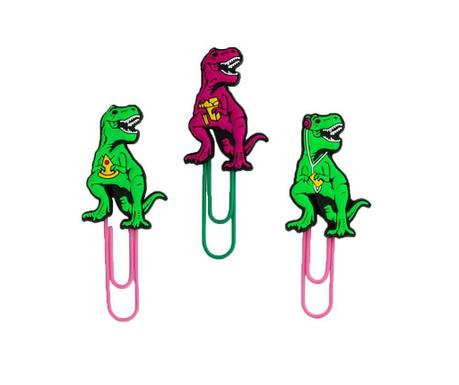 Sada 6 klipsů s přísavkou T-Rex