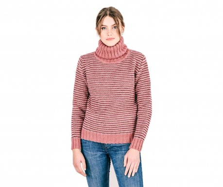 Sweter damski Shimoda Pink S