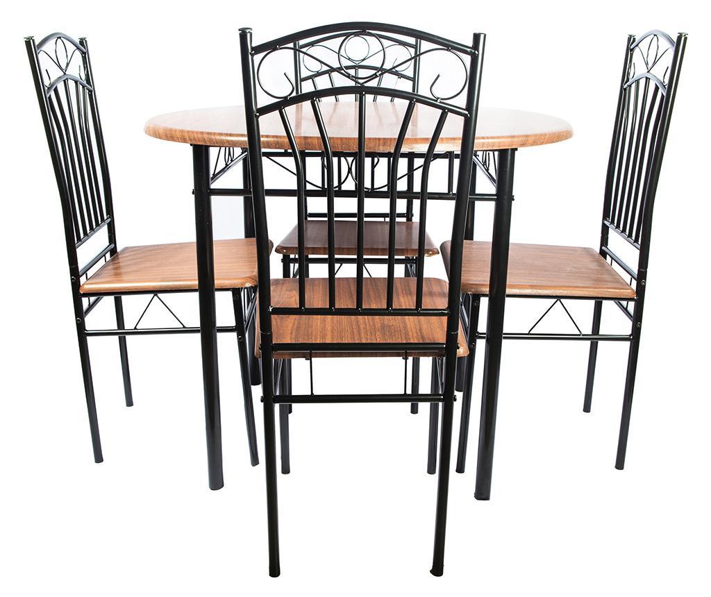 Set masa si 4 scaune Olivia