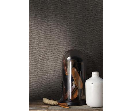 Stenska tapeta Arrow Weave Cocoa 53x1005 cm