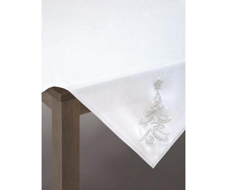 Centralna podkładka stołowa Angie White 85x85 cm