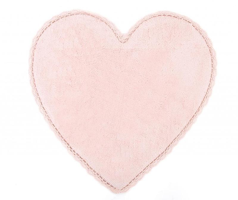 Amor Pink Fürdőszobai szőnyeg 80x80 cm
