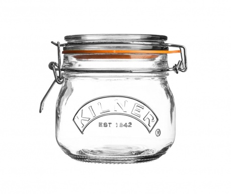 Clip Top Befőttesüveg hermetikus fedővel 500 ml