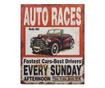 Set 3 škatel v obliki knjige Auto Races