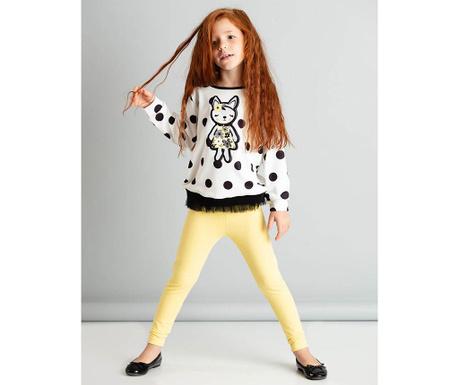 Set bluza si colanti copii Fox 6 ani