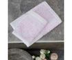 Set 2 prosoape de baie Jacquard Lauren Pink