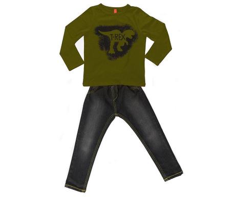 Σετ παιδική μπλούζα και παντελόνι T-Rex Grafitti