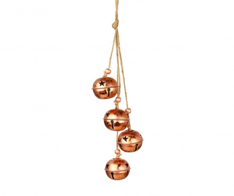 Viseča dekoracija Gently Copper Bells