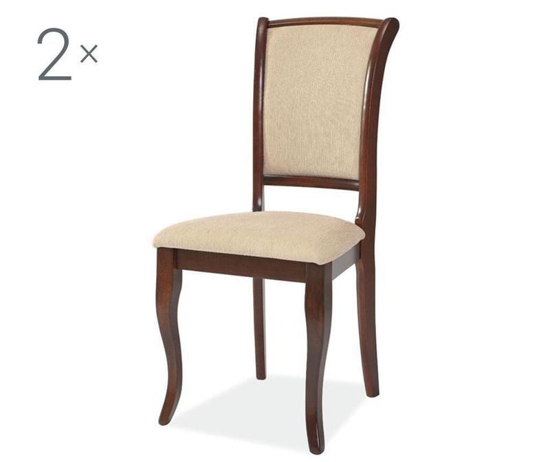 Set 2 stolice Anahi Brown