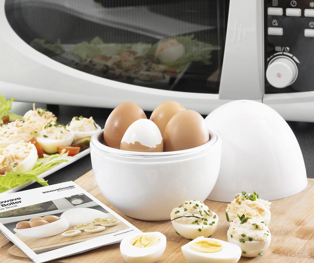 InnovaGoods Boilegg Tojásfőző mikrohullámú sütőhöz