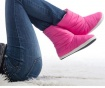 Cizme de casa dama Trendify Pink 38