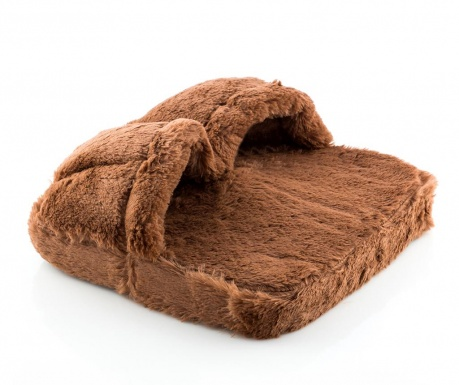 Уред за масаж на крака InnovaGoods Fur Brown