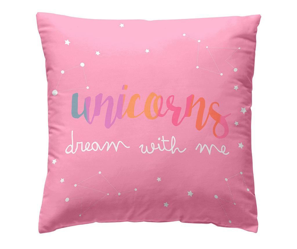 Jastučnica Unicorn Frase 40x40 cm