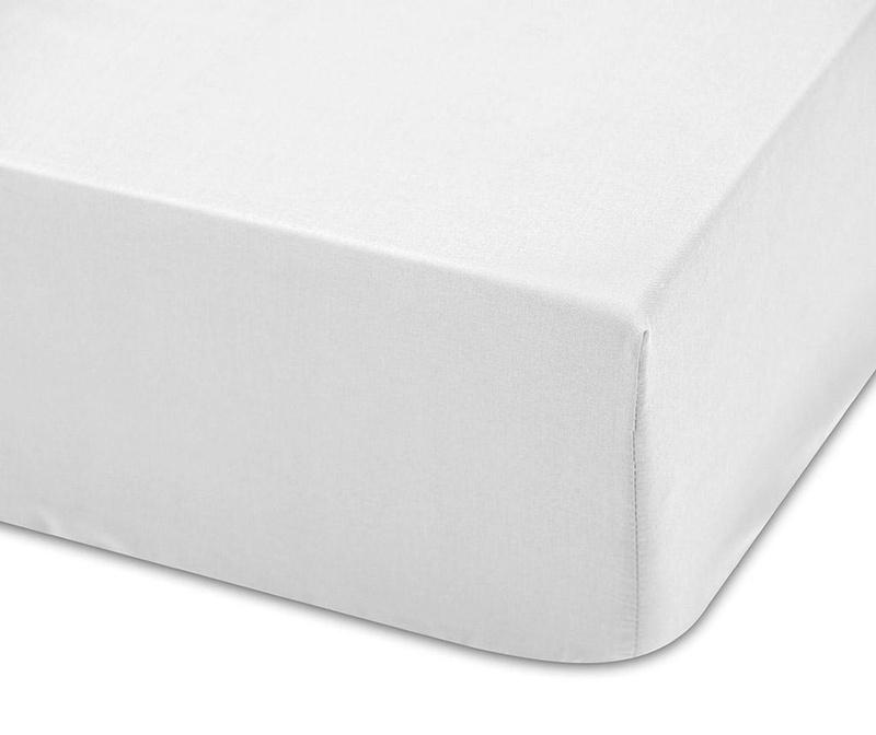 Cearsaf de patut cu elastic Lisa Blanco 60x120 cm