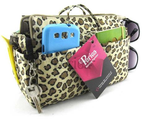 Organizér do tašky Nikki Leopard Gold