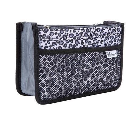 Οργανωτής τσάντας Premium Chelsy Leopard Silver