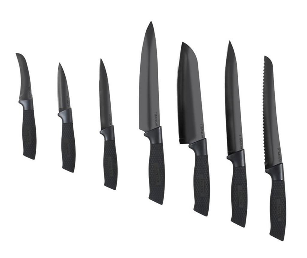 Set 7 noževa Titanium