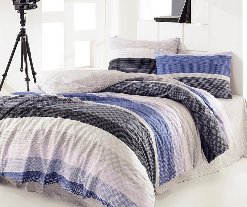 Felicie Blue Egyszemélyes Ranforce ágynemű