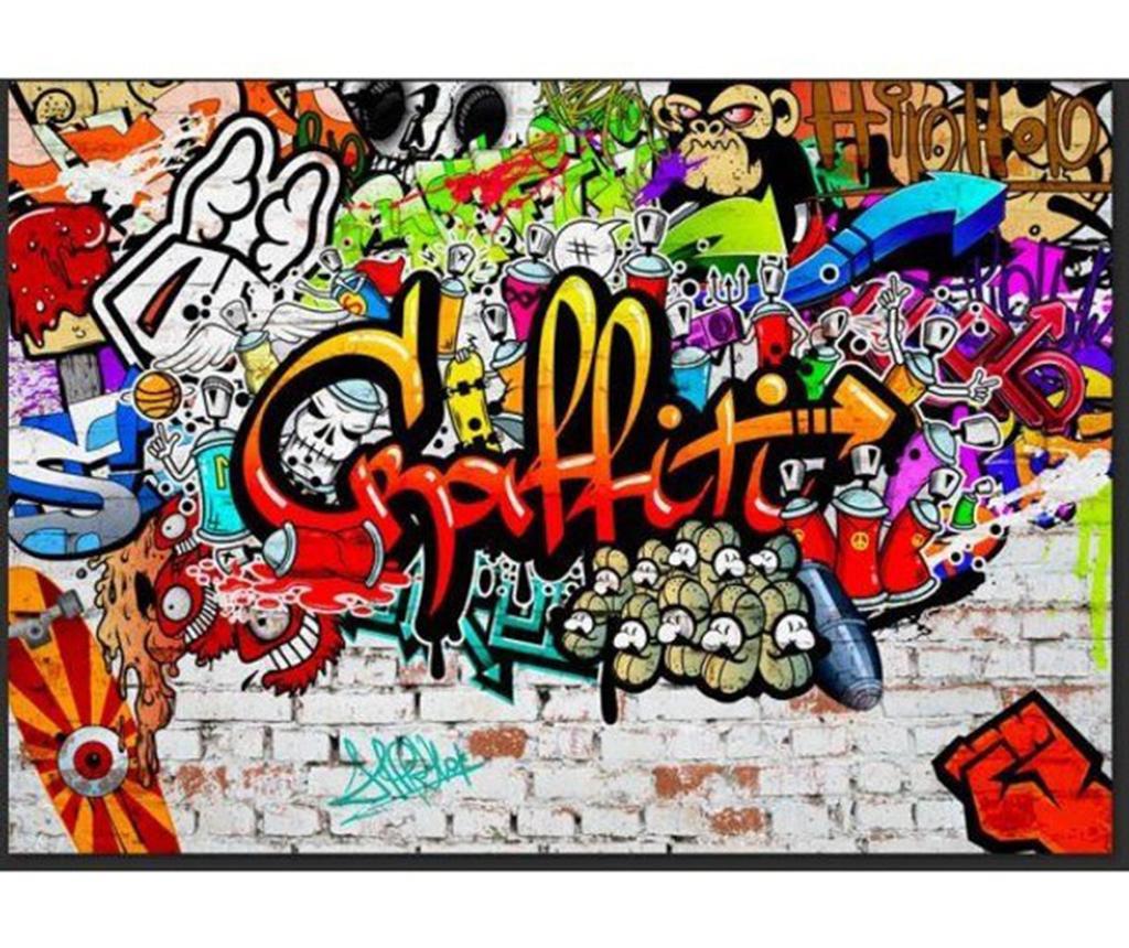 Tapeta Colorful Graffiti 140x200 cm