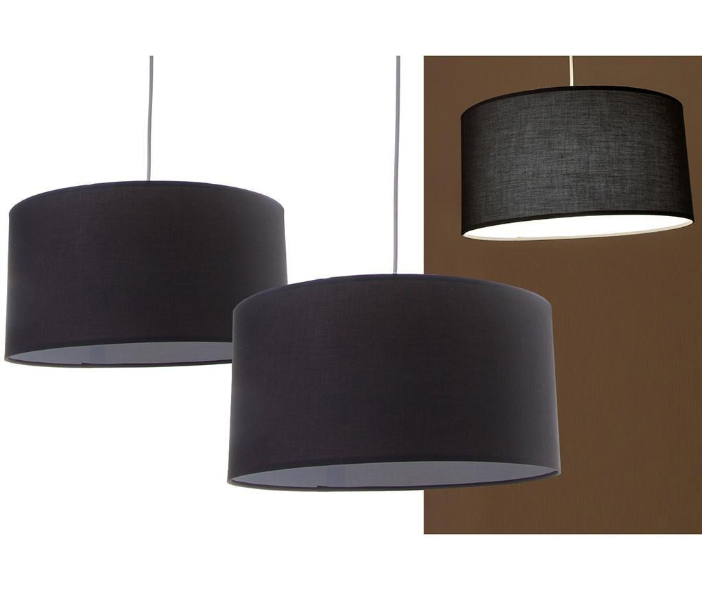 Set 2 lustre Simple Dark Grey