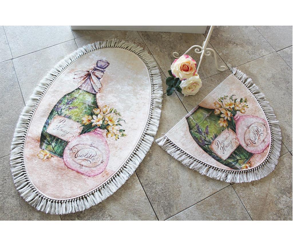 Violetta 2 db Fürdőszobai szőnyeg