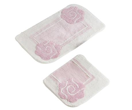 Dolce Pink 2 db Fürdőszobai szőnyeg