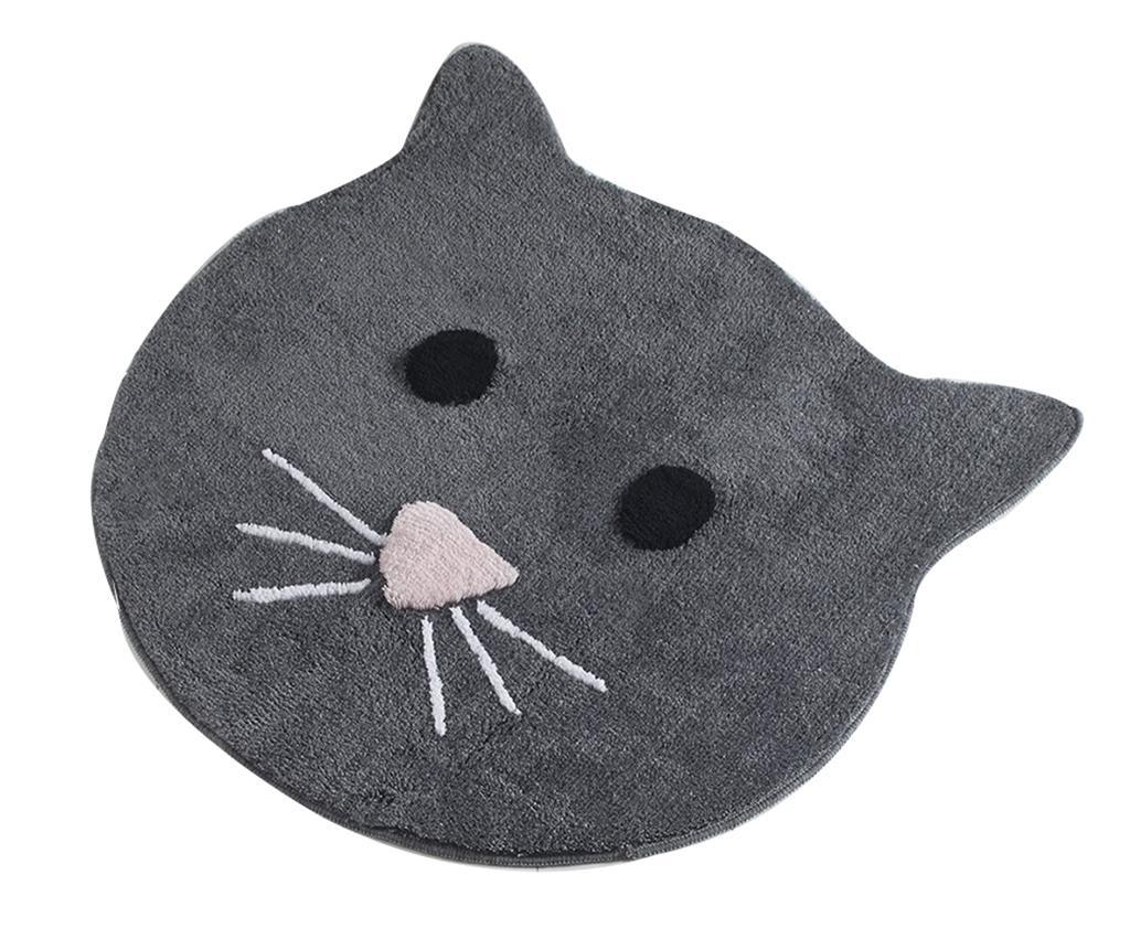 Kupaonski tepih Cat Anthracite 90 cm