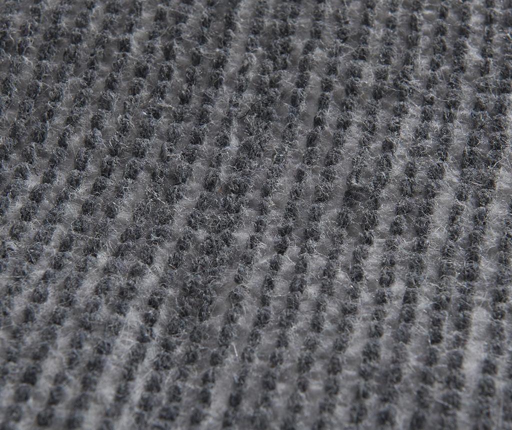 Kopalniška preproga Circle Anthracite 90 cm