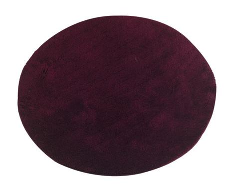 Circle Maroon Fürdőszobai szőnyeg 90 cm